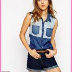 Bayan Kot Gömlek Modelleri yazlık kombin