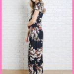 Çiçekli Elbise Modelleri bilekte